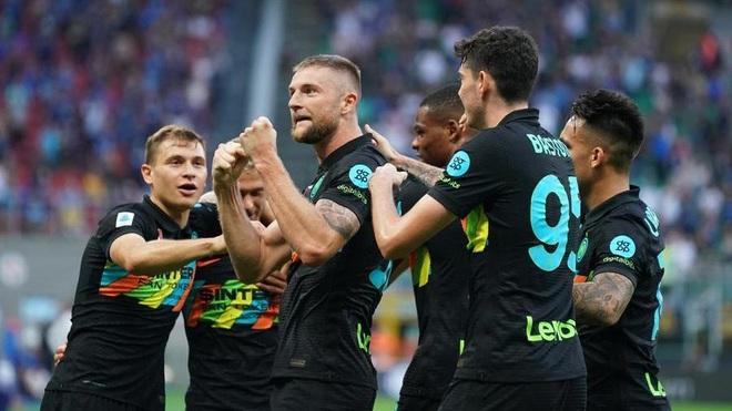 Hủy diệt đối thủ 6-1, Inter vượt lên dẫn đầu Serie A - 1
