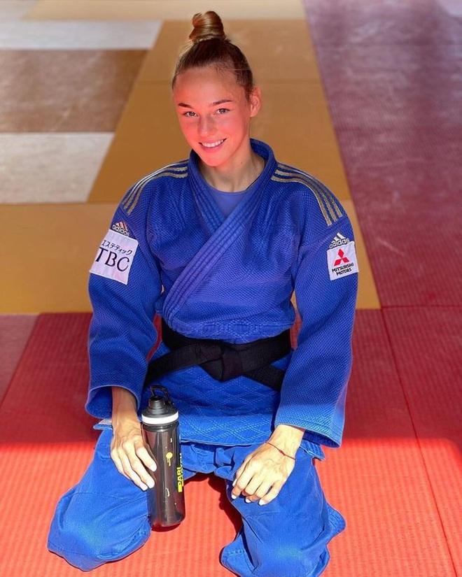 Nhan sắc nữ thần Judo được mời làm người mẫu chuyên nghiệp - 1