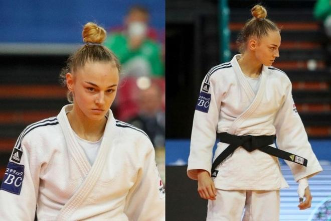 Nhan sắc nữ thần Judo được mời làm người mẫu chuyên nghiệp - 2