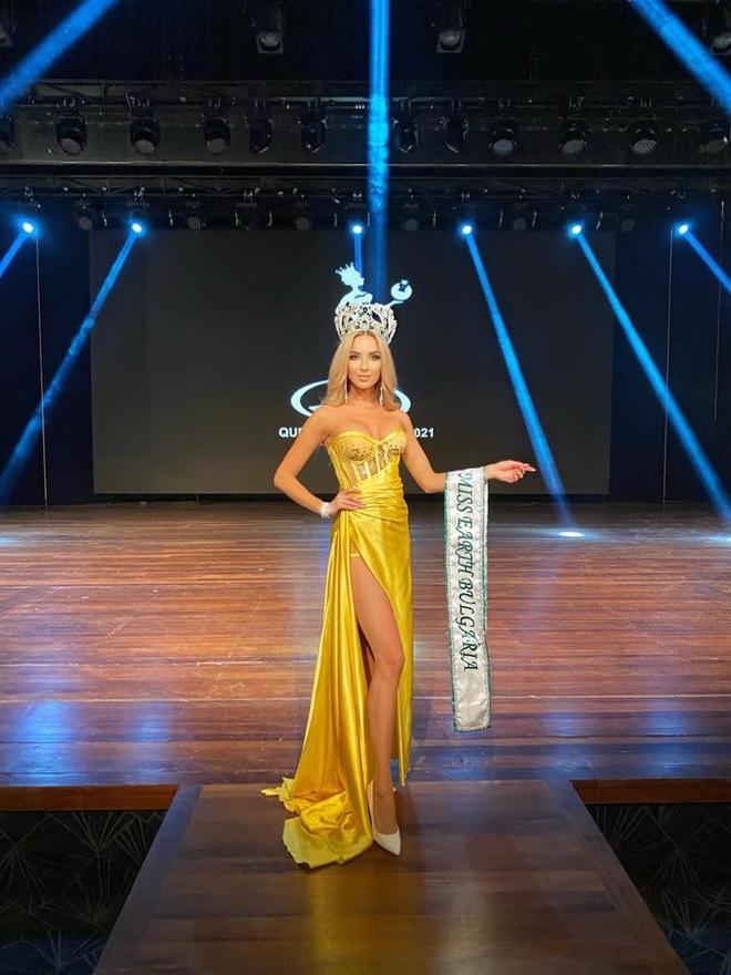 Nhan sắc yêu kiều của hoa hậu trái đất Bulgaria - 5