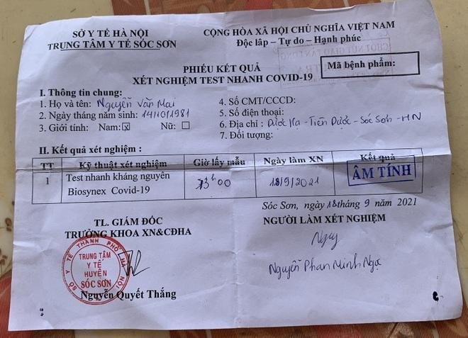 Tài xế sửa ngày phiếu xét nghiệm, chạy xe vượt chốt từ Hà Nội tới Hải Dương - 1