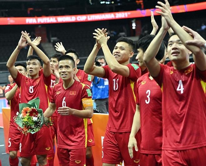 Đội tuyển futsal Việt Nam nhận mưa thưởng nóng sau khi giành vé đi tiếp - 2