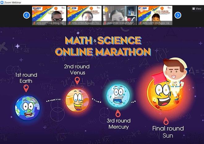 Trải nghiệm khác biệt từ một cuộc marathon kiến thức tiếng Anh qua môn Toán và Khoa học - 3