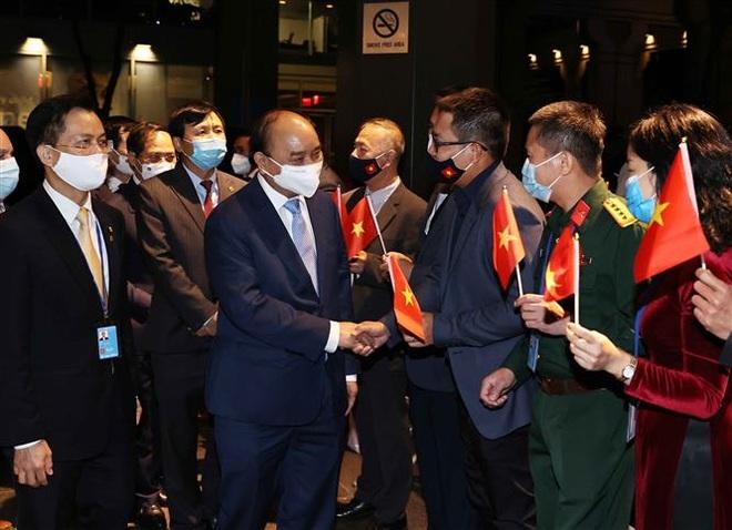 Chủ tịch nước Nguyễn Xuân Phúc tới New York - Mỹ - 2