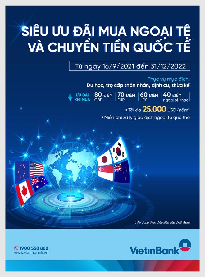 Siêu ưu đãi mua ngoại tệ và chuyển tiền quốc tế - 1
