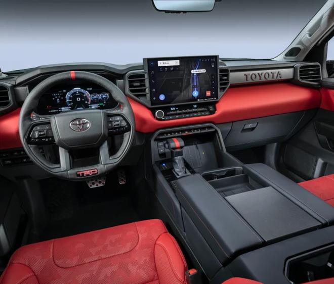 Siêu bán tải Toyota Tundra 2022 đối đầu Chevrolet Silverado và Ford F-150 - 3