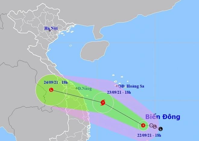Áp thấp nhiệt đới khả năng mạnh lên thành bão gây mưa lớn nhiều nơi - 1