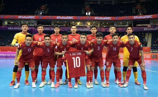 Những khoảnh khắc quả cảm của cầu thủ futsal Việt Nam trước Nga - 4