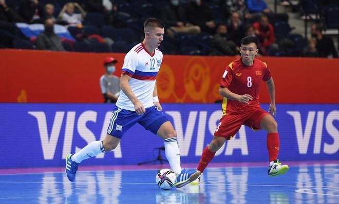 Những khoảnh khắc quả cảm của cầu thủ futsal Việt Nam trước Nga - 5