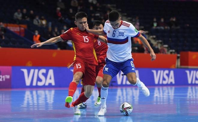 Thua tuyển Nga, đội tuyển futsal Việt Nam chia tay World Cup 2021 - 1