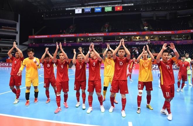 Thua tuyển Nga, đội tuyển futsal Việt Nam chia tay World Cup 2021 - 2