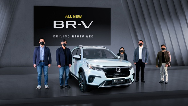 Honda BR-V thế hệ mới chính thức ra mắt - 3
