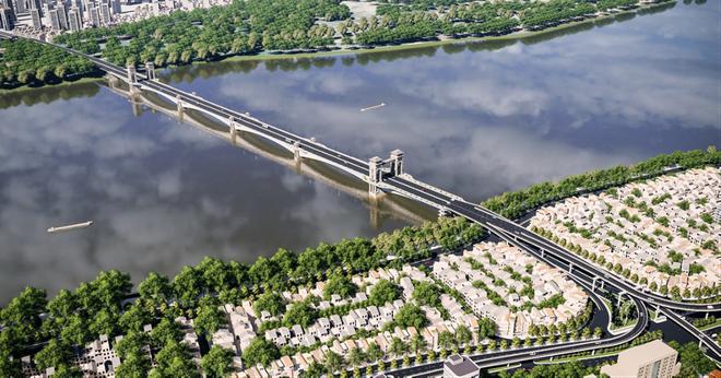 Hội Kiến trúc sư lên tiếng về kiến trúc gây tranh cãi của cầu Trần Hưng Đạo - 1