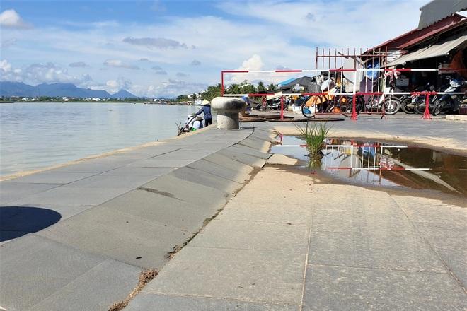 Kè trăm tỷ bờ sông Hoài sụt lún, đe dọa phố cổ Hội An - 5