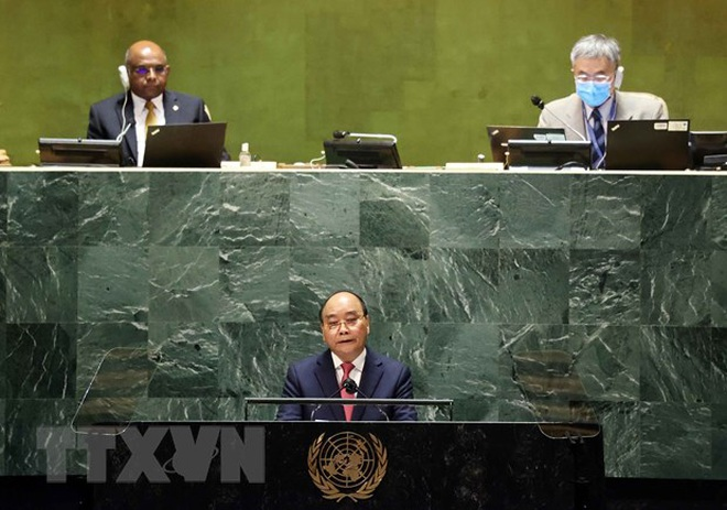 Phát biểu quan trọng của Chủ tịch nước Nguyễn Xuân Phúc tại Liên Hợp Quốc - 2