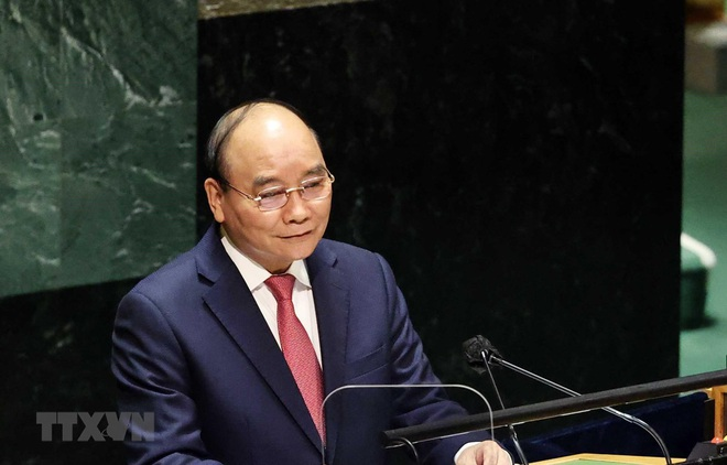 Phát biểu quan trọng của Chủ tịch nước Nguyễn Xuân Phúc tại Liên Hợp Quốc - 1