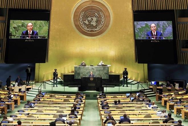 Phát biểu quan trọng của Chủ tịch nước Nguyễn Xuân Phúc tại Liên Hợp Quốc - 3
