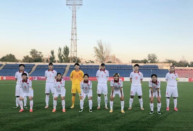 Đội tuyển nữ Việt Nam thắng đậm đối thủ 16-0 ở vòng loại châu Á - 1