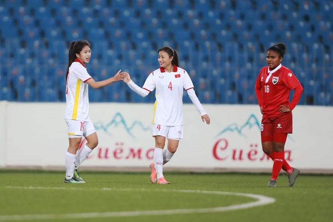 Đội tuyển nữ Việt Nam thắng đậm đối thủ 16-0 ở vòng loại châu Á - 5