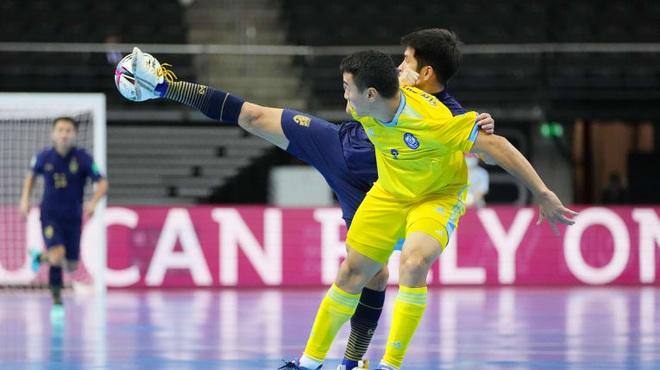 Kazakhstan biến giấc mơ World Cup của futsal Thái Lan thành cơn ác mộng - 1