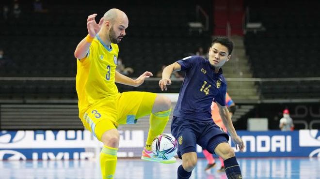 Kazakhstan biến giấc mơ World Cup của futsal Thái Lan thành cơn ác mộng - 2