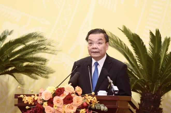 Chủ tịch Hà Nội: Khẩn trương tìm nguồn vắc xin phòng Covid-19 cho trẻ em - 1