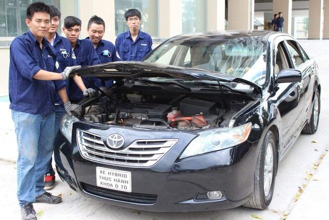 Công nghệ kỹ thuật ô tô: Ngành học hấp dẫn nhất của trường nghề - 2