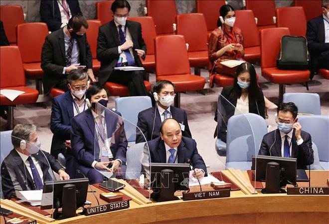Chủ tịch nước Nguyễn Xuân Phúc đề xuất sáng kiến ứng phó biến đổi khí hậu - 2