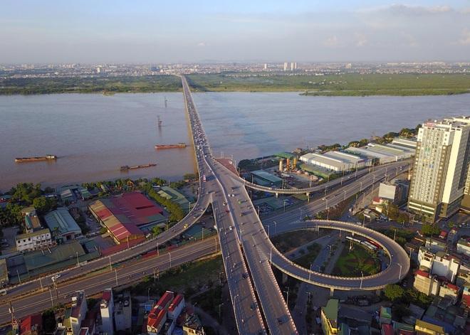 Những cây cầu nối đôi bờ ở Hà Nội - 1