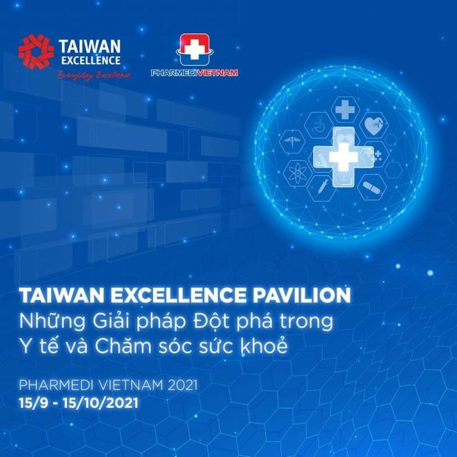 Taiwan Excellence cùng những giải pháp y tế đột phá ở PHARMEDI 2021 - 1