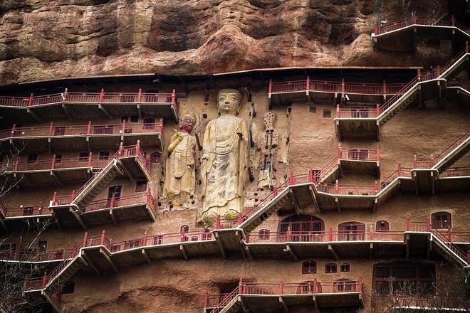 Bí mật về hang động cổ chứa hàng nghìn tượng Phật ngàn năm - 3