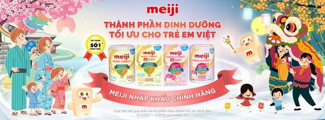 Trao tặng sản phẩm dinh dưỡng Meiji cho mẹ và bé điều trị tại BV Hùng Vương - 2