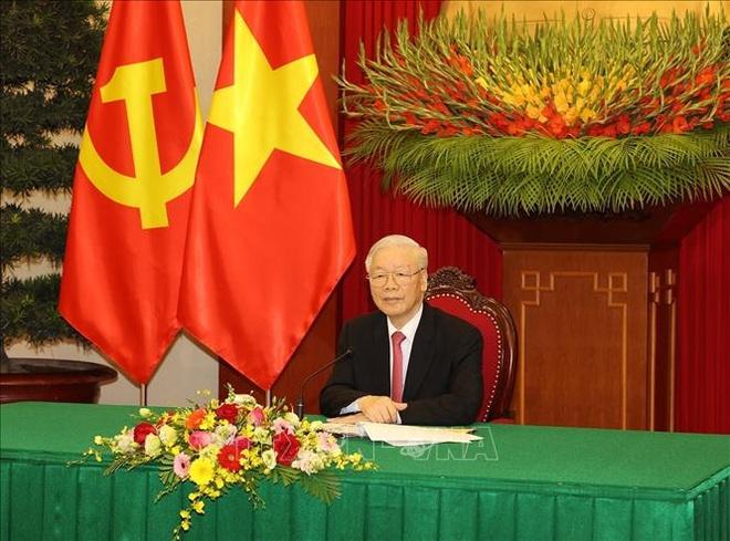 Tổng Bí thư Nguyễn Phú Trọng điện đàm Tổng Bí thư, Chủ tịch nước Trung Quốc - 1