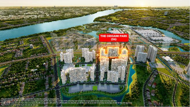 Cuộc sống cân bằng tại The Origami Park - Vinhomes Grand Park - 1