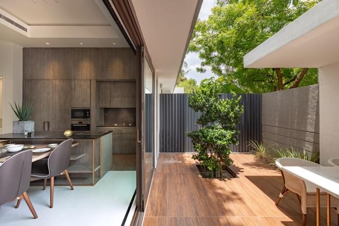 Ngôi nhà rộng 700 m2 có 3 khoảng sân, được xem là thánh địa yên bình - 6