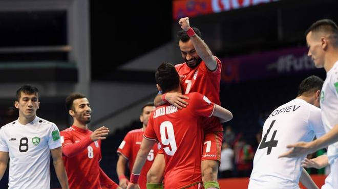 Iran đi tiếp, xác định xong các trận đấu tứ kết World Cup futsal 2021 - 1