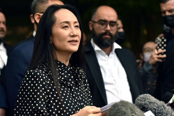 Huawei lên tiếng sau khi bà Mạnh Vãn Chu được trả tự do - 1