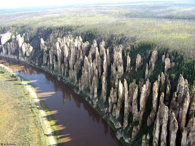 Khu rừng kỳ lạ mọc hàng nghìn trụ đá cách đây 500 triệu năm - 1