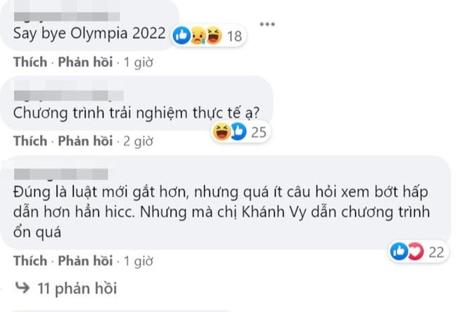 Khán giả không hài lòng về luật chơi mùa mới Đường lên đỉnh Olympia - 4