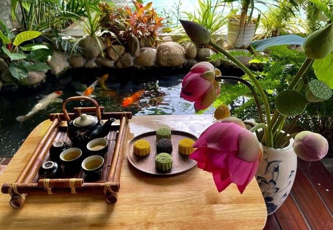 Khu vườn như resort thu nhỏ, gia chủ thưởng trà, ngắm cá bơi ở Đồng Nai - 14