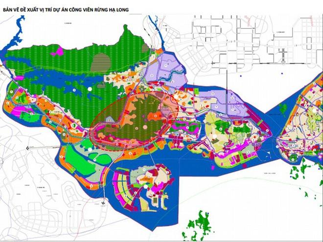 Vingroup muốn làm công viên rừng 650ha ở Hạ Long