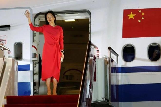 Vì sao Trung Quốc trải thảm đỏ đón bà Mạnh Vãn Chu? - 1