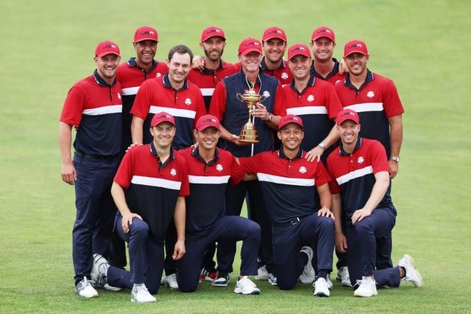 Tuyển Mỹ thắng tuyển châu Âu với cách biệt kỷ lục để vô địch Ryder Cup - 3