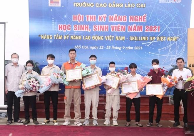 Sôi động Hội thi Kỹ năng nghề học sinh, sinh viên năm 2021 - 5