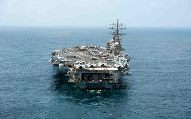 Nhóm tàu sân bay Mỹ trở lại Biển Đông - 1