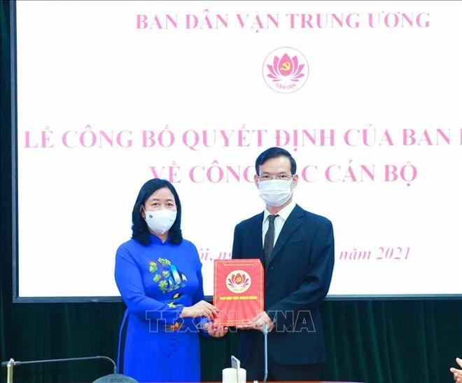 Ông Triệu Tài Vinh được điều động làm Phó Trưởng ban Ban Dân vận Trung ương - 1