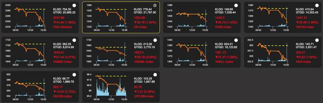 Cơn bão bán tháo càn quét, rủi ro cháy tài khoản vì cổ phiếu nóng - 1