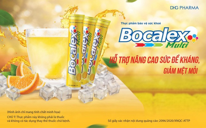 Viên sủi Bocalex Multi - thực phẩm hỗ trợ nâng cao sức đề kháng cho cơ thể - 1