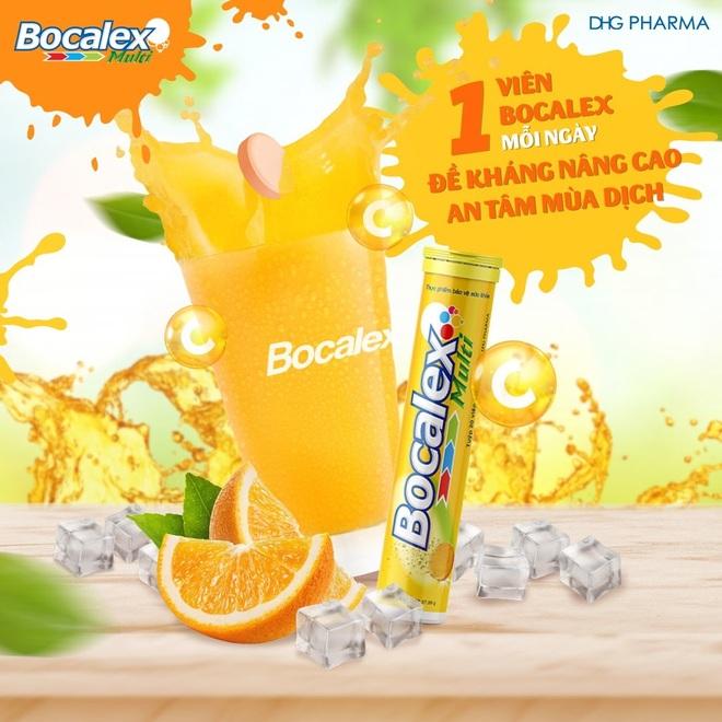 Viên sủi Bocalex Multi - thực phẩm hỗ trợ nâng cao sức đề kháng cho cơ thể - 4