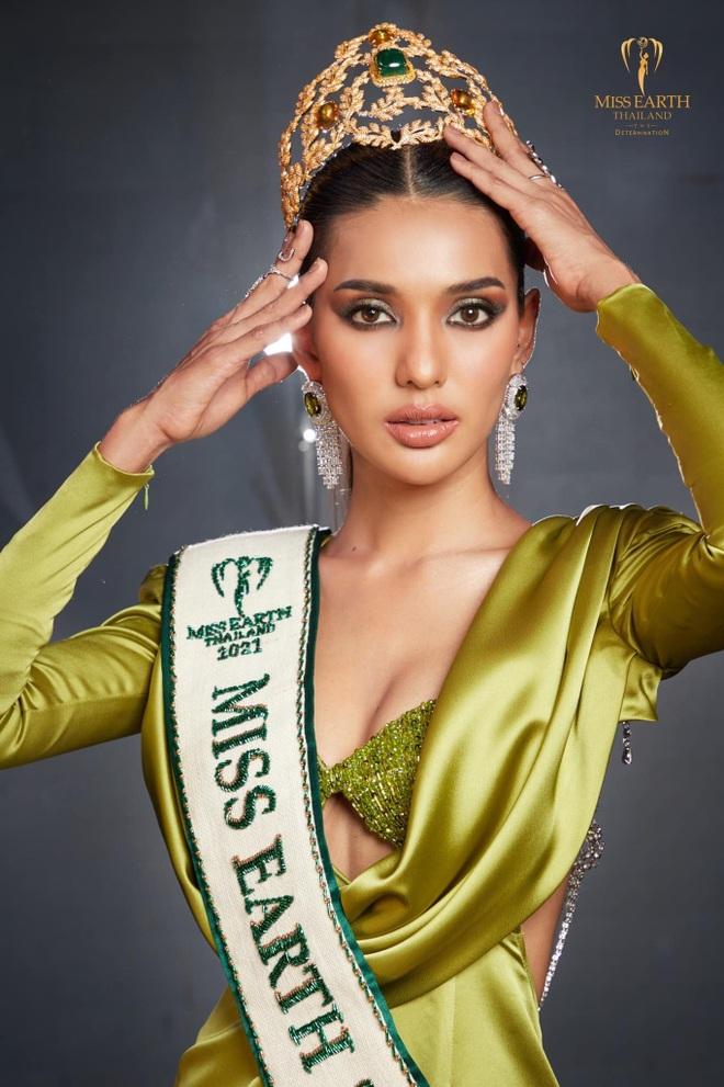 Nhan sắc hoàn hảo của tân Hoa hậu Trái đất Thái Lan - 1